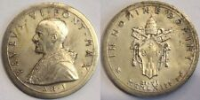 Vaticano medaglia in argento papa Paolo VI anno I 1963