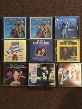 Conniff Wayne Newton Oldies Steve And Eydie White Cliffs Of Dover 13 Cd's Total