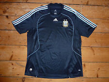 size:XXL  ARGENTINA football SHIRT south american SOCCER JERSEY 2008/09  navy