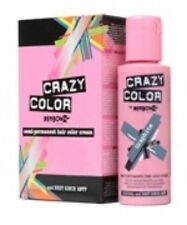 Crazy Color by Renbow Semi Permanent Hair Dye Cream in No.69 graphite . 100ml