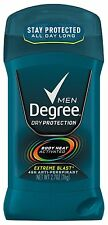 Degree Men Invisible Solid AP Deodorant, Extreme Blast, 2.7 oz (Pack of 12)
