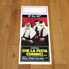 CHE LA FESTA COMINCI locandina poster Que La Fete Commence Tavernier Noiret W51