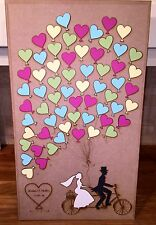 Wedding Guest Book Vintage balloon jigsaw puzzle