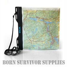 SILVA A4 CARRY DRY WATERPROOF MAP CASE - Medium Document Bag Hiking Walking DofE