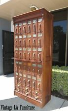 RARE 1890's Antique Industrial FILE Letter CABINET by Office Specialty MFG Co.