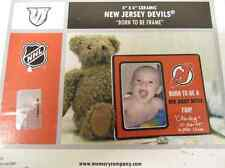 New Jersey Devils NHL Hockey Rare Gift Born to Be Ceramic Picture Photo Frame