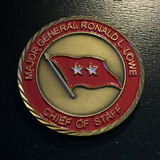 B46 US Pacific Command Major General Lowe 2 Star Challenge Coin
