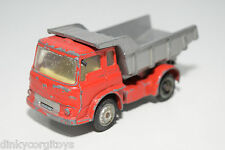 CORGI TOYS 494 BEDFORD TIPPER KIPPER TRUCK RED GREY GOOD CONDITION