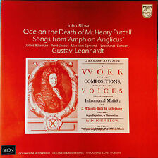 John Blow - Ode On The Death Of Henry Purcell / Amphion Anglicus Leonhardt LP