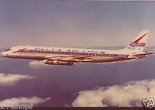 DELTA AIR LINES DC 8 IN FLIGHT COLOR PHOTO  5 X 7