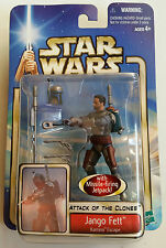 *star wars: aotc collection1- jango fett kamino escape action figure MOSC*