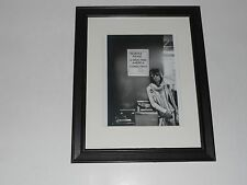 "Framed Keith Richards ""Drug Free"" 1972 Tour Picture Rolling Stones, 14"" by 17"""