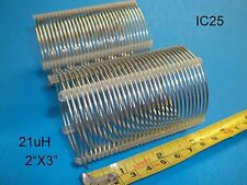 """Air Coil, RF Inductor, 21 uH, 2""""X3"""" , AWG 16, Price for 2 (IC25P)"""