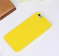 Ultra-Thin Candy Color Soft Silicone TPU Case Cover For Apple iPhone & Samsung