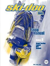 Ski-Doo service shop manual 2002 SUMMIT H.M. X 800 & 2002 SUMMIT FAN 500