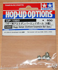 Tamiya 54503 Buggy Damper Aluminum Suspension Ball (4 Pcs.) TRF503/TRF511/DB01RR