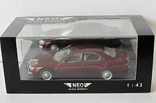MAZDA XEDOS 6 DARK RED METAL 1992 NEO 44920 1/43 ROUGE FONCE LHD LEFT HAND DRIVE