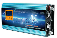 1200W Grid tie power inverter DC 102V-158V to AC 110V + LCD, MPPT for solar