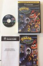 Gamecube Crash Bandicoot: The Wrath of Cortex TESTED Complete Game Box Booklet