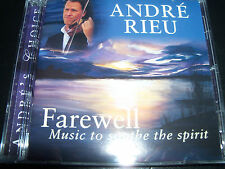 Andre Rieu / Andre's Choice Farewell Music To Soothe The Spirit CD - New