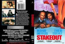 Stakeout ~ New DVD 2002 ~ Richard Dreyfuss, Emilio Estevez (1987)
