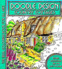 Country Cottages (Adult Colouring Book) (Doodle Design) (New Mindfulness P/B)