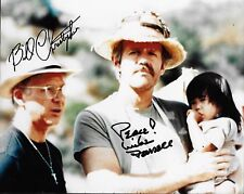 Signed Bill Christopher Autographed Mike Farrell 8x10 MASH COA