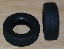 Tamiya 1/14 Truck Trailer 30mm Wide Hard Super Single Tyres - 56528 (2pcs)
