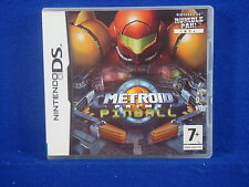 ds METROID PRIME PINBALL *x ds Game Lite DSI 3DS Nintendo PAL