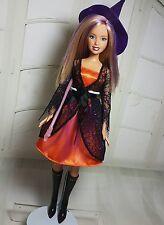 BARBIE Hexe Zauberin Halloween Mattel