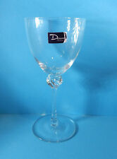 "DAUM BOLERO WHITE WINE GLASS (S) 5 1/2"" MADE IN FRANCE EXCELLENT!"