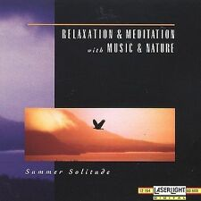 Relaxation & Meditation with Music & Nature: Summer Solitude-CD New
