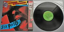 Sex Pistols - Flogging A Dead Horse Japanese 1983 Virgin LP with OBI/Lyric Sheet