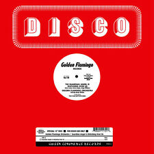 "GOLDEN FLAMINGO ORCHESTRA THE GUARDIAN ANGEL IS WATCHING NEW 12"" ITALIAN DISCO"