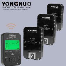 Yongnuo TTL YN622C-TX + 3pcs YN-622C HSS 1/8000 flash trigger for canon