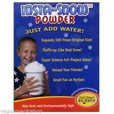 Insta-Snow Powder 10 Gram Tube -Add Water Fluffs Like Real Snow Science Project