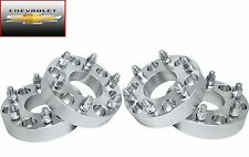 4 Pc CHEVY TAHOE 6 LUG BILLET WHEEL SPACER ADAPTER 2.00 Inch # 6550E1415