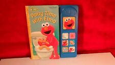 Potty Time with Elmo (2005, Board Book with Play-a-Sound buttons)