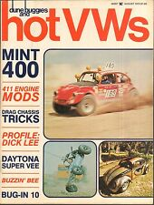 dune buggies and hot VWs magazine   1973 August    SCCA Formula Vee & off road