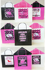 PERSONALISED HEN NIGHT PARTY BAGS- MIX & MATCH  BAG,TISSUE PAPER & THEME