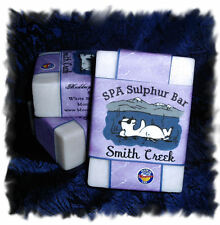 Lavender_Smith Creek SPA Sulphur Mineral Soap Made in Montana Homemade/Handmade