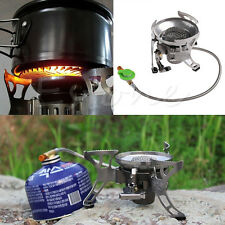 Portable Outdoor Gas Stove Butane Burner Multi Fuel Stoves For Camping Hiking