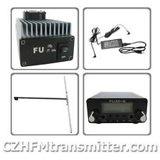 FU-30A 30W FM amplifier broadcast transmitter+0.5w Exciter Dipole antenna KIT