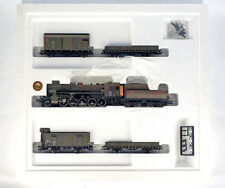 Vintage LILIPUT 852 HO H0 DR DRG Wehrmacht train set with BR 52 , NEW