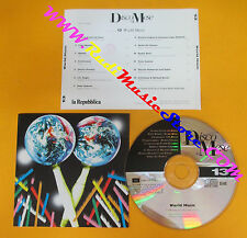CD DISCO MESE 13 WORLD MUSIC compilation PROMO 1996 PAPA WEMBA GABRIEL(C28)