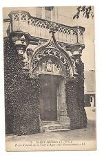 saint-aignan  porte d'entrée de la tour d'agar style renaissance