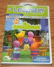 2004 Leap Frog Leapster 1&2 Learning Game THE BACKYARDIGANS, Expanded Play - 4-6