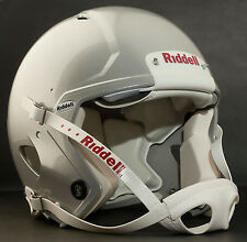 Riddell Revolution SPEED Classic Football Helmet (EXTRA BRIGHT METALLIC SILVER)
