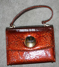 Classic  LEATHER Vintage BOX PURSE/HANDBAG