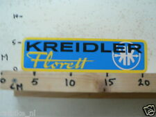 STICKER,DECAL VINTAGE KREIDLER FLORETT MOTORCYCLE MOPED MOFA